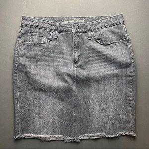 Universal Thread Skirts - Universal Thread black denim skirt. NWOT.